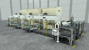 AP&T svarar för automatiseringen av en helt ny presslinje vid Teneres produktionsanläggning i Monterrey, Mexiko.