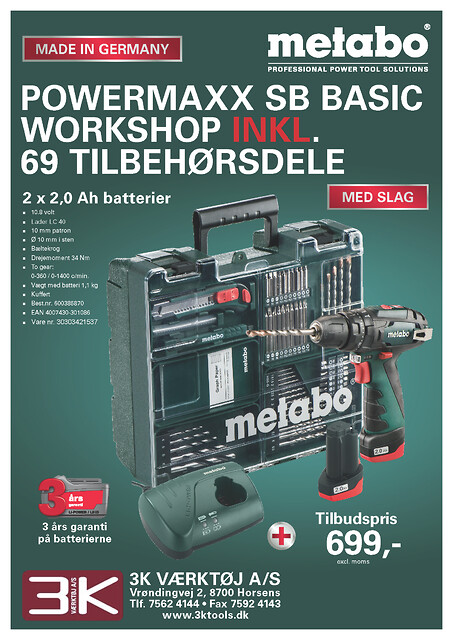 metabo powermaxx basic workshop