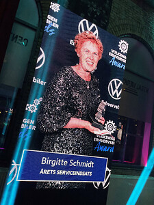 Årets Serviceindsats 2021 - Birgitte Schmidt