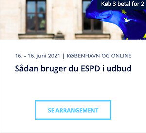 Sådan bruger du ESPD i udbud - Nohrcon kursus