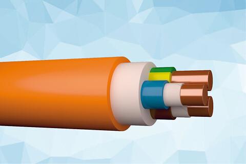 SIENOPYR (N)HXH-J 1 kV uskærmet & brandsikkert installationskabel