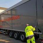 HCS med nye walking floor trailere. Oplagte til transport af løs last