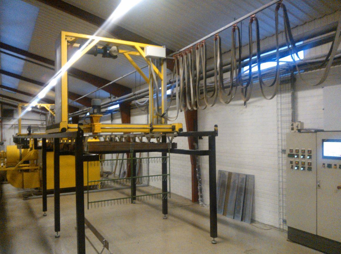 Ny Maskine Hos Esbjerg Galvano Industri Aps S Fart