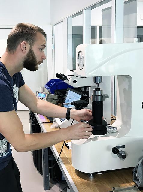 KmK Instrument utför ackrediterad kalibrering av hårdhetsprovare
