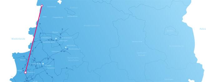 A-Nord del af tyske kabelkorridor projekt