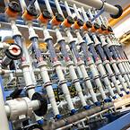Manuelle membranventiler type 514 og VA Flowmeter