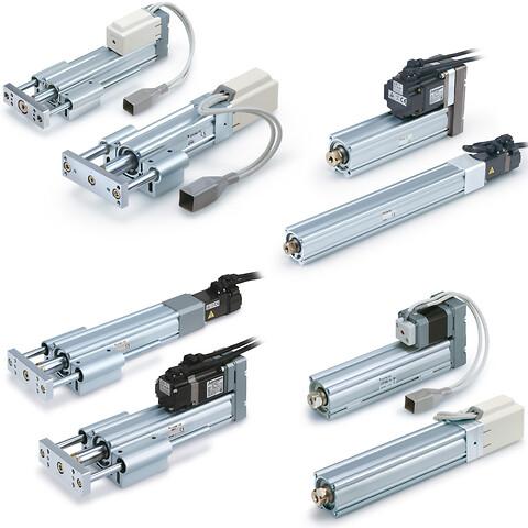 5 dages leveringstid på elektriske aktuatorer fra SMC