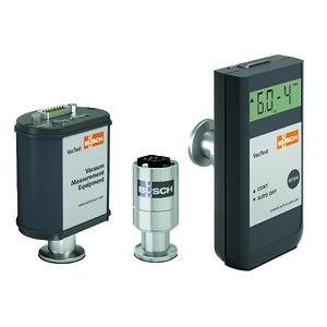 De tre produktserierna i Buschs VacTest mätningsutrustning: (från vänster till höger) VacTest digitala transmittrar, VacTest analoga transmittrar, VacTest mobila mätare.