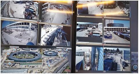 Videoovervågning  - Videoovervågning erhverv