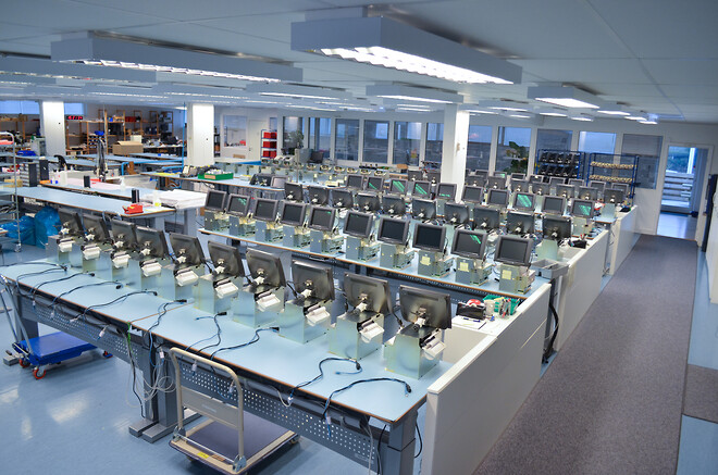 Elektronikudviklingog Elektronikproduktion vi laver også Industripc
