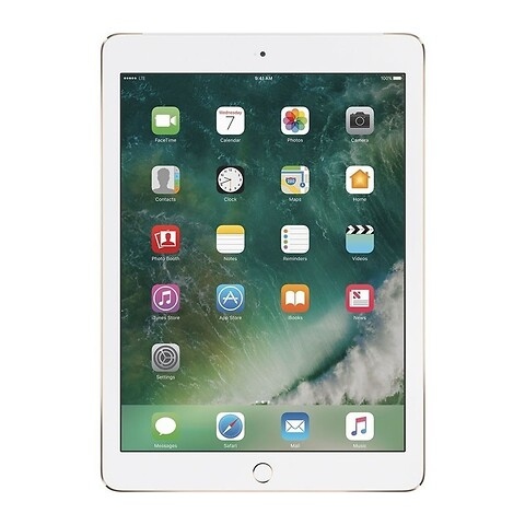 Apple iPad 6 128GB WiFi (Guld) - Grade B - tablet