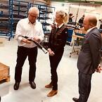Danmarks Minister for Udviklingssamarbejde på besøg hos Esbjergvirksomhed