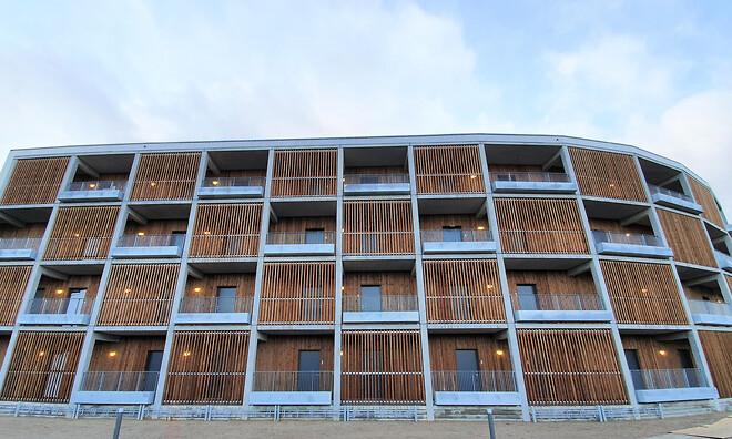 Rosenhøj, Aarhus, stålværn fra DAV NORDIC