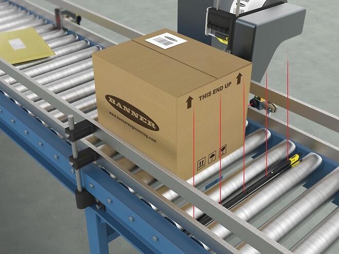 TTR-sensor for rullebaner og rulletransportører