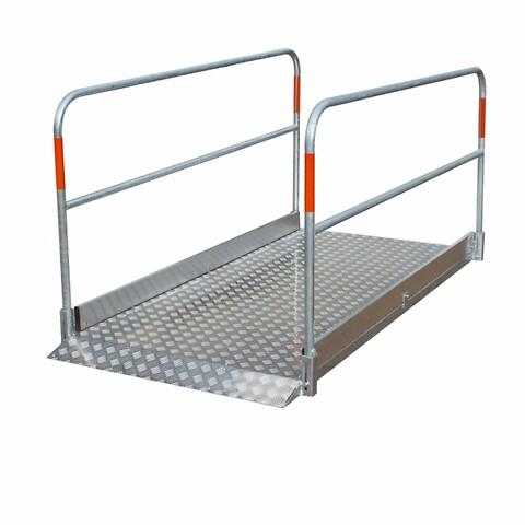 Gangbro aluminium 1.70 x 1.0 m