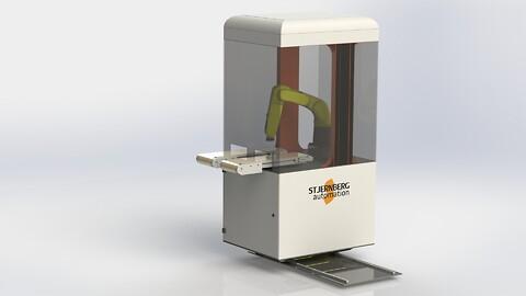 Visionguidning; sortering och maskinbetjäning från Stjernberg Automation