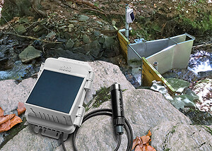 Alsidig og robust datalogger til miljø målinger.