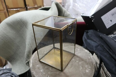 Lanterne little luxury home zetter antique cobber glass