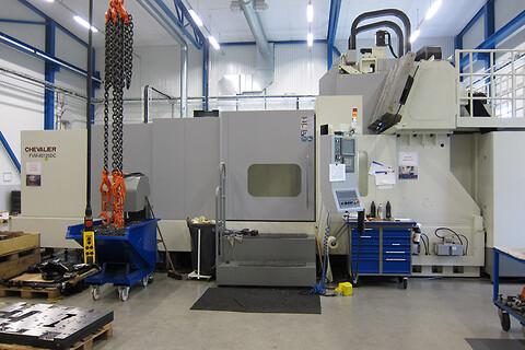 Chevalier FVM-80125DC 2010 - Chevalier, begagnad, portalfräs