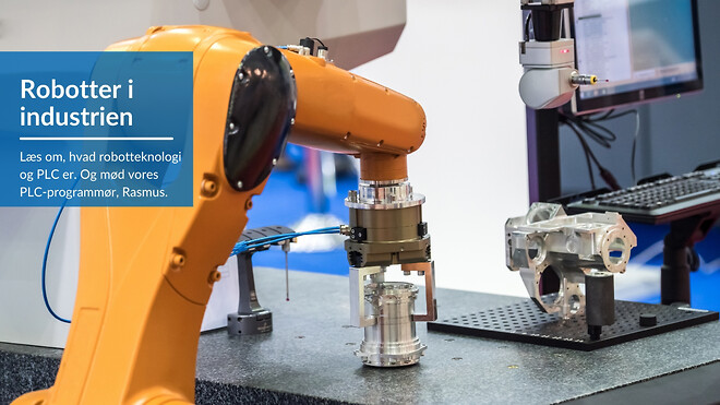Robotter i industrien har mange fordele