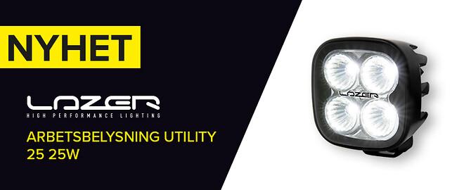 Lazer Utility arbetsbelysning