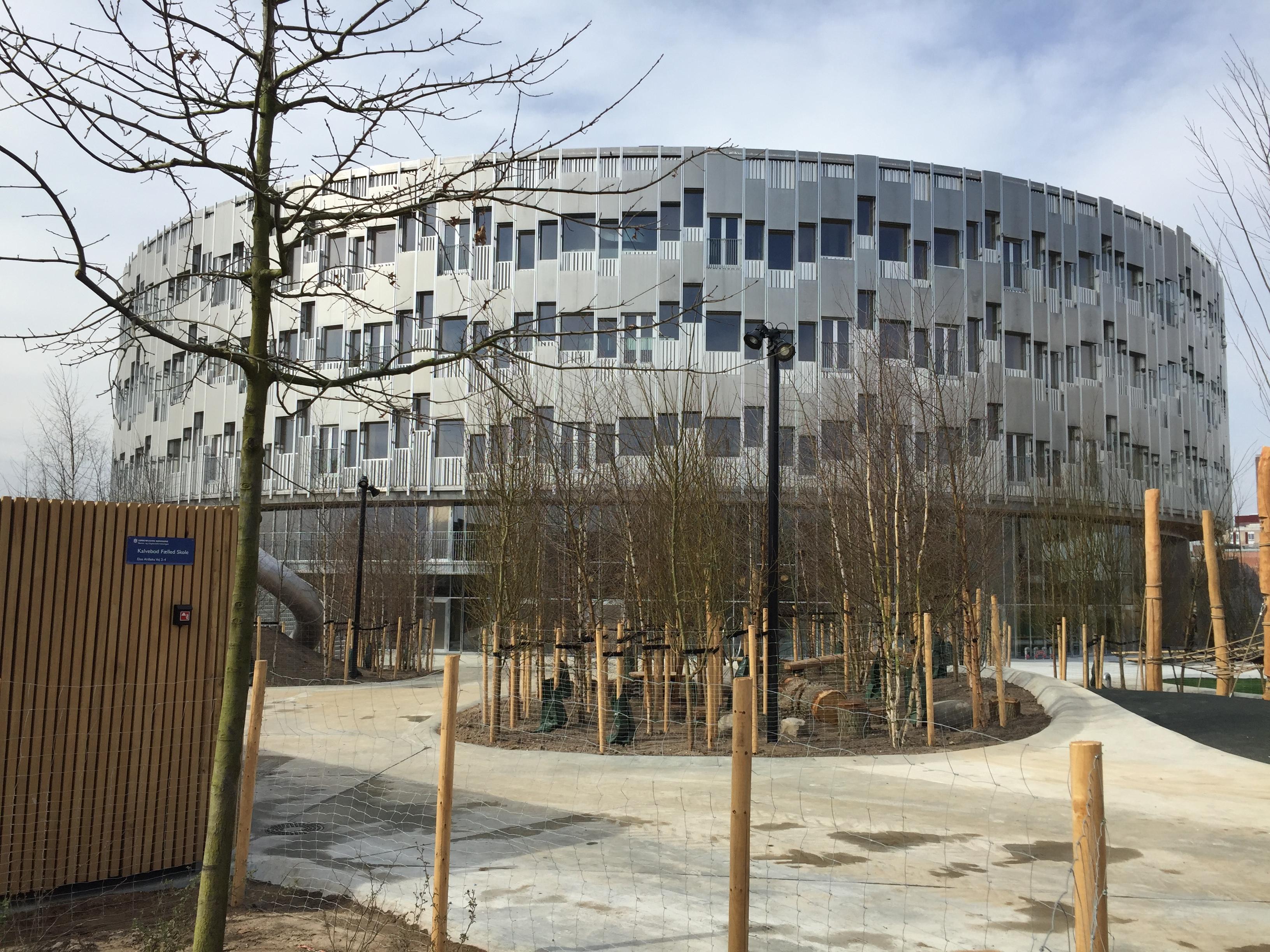 Kalvebod Fælled Skole - Building Supply DK