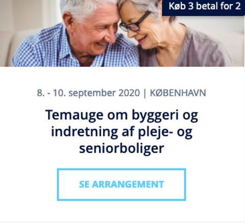 Konference om fremtidens plejebolig 2020 - Konference om fremtidens plejebolig - Nohrcon