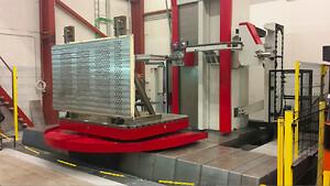 Kuni maskinfabrik har investeret i nyt CNC Bore/fræse maskine, som er en nødvendighed\ni at producerer større maskindele til hydrauliske presser der er en del af vores egenproduktion.