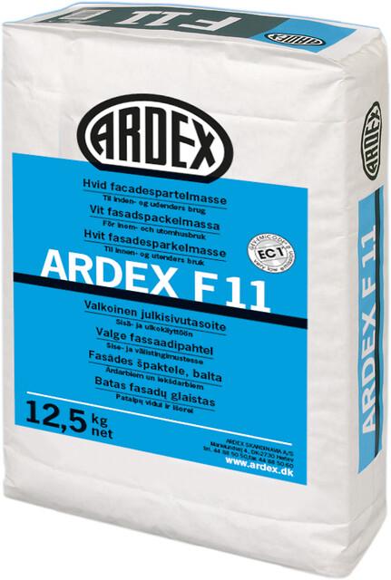 Facadespartelmasse, hvid og hurtighærdende - ARDEX F 11