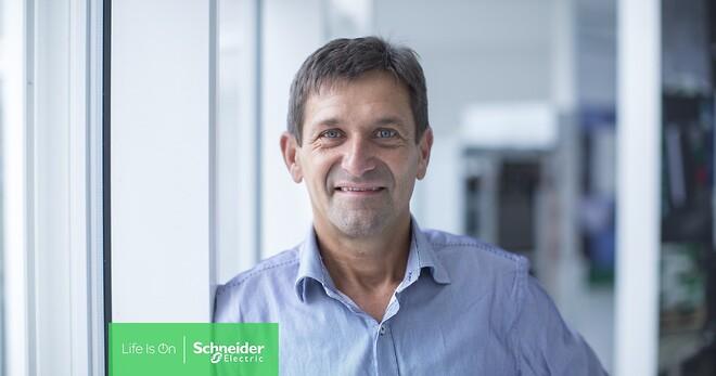 Henrik Grønning fra Schneider Electric