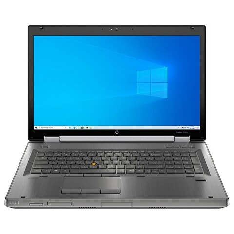 "17"" hp elitebook 8760w - intel i7 2630QM 2,0GHz 256GB ssd 8GB Win10 pro - grade b - bærbar computer"