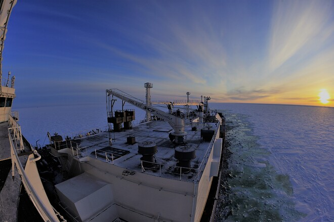 Sustainable Arctic shipping with ABBs Azipod®