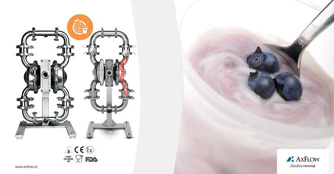 Wilden® hygienisk pumpserie Saniflo™