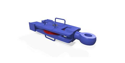 Livbåtblokk av Møllerodden AS