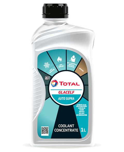 Long life kylarvätska från Total - Kylarvätska, Total, smörjmedel, bilservice
