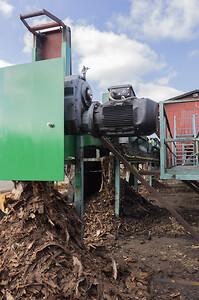 Busck elmotor installerad på sågverk