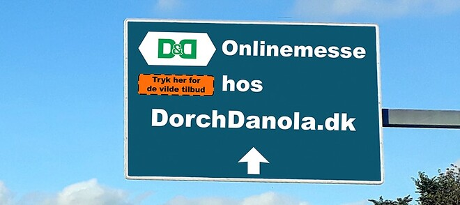 Onlinemesse hos Dorch og Danola. Vi har tonsvis af gode tilbud på kvalitetsværktøj!