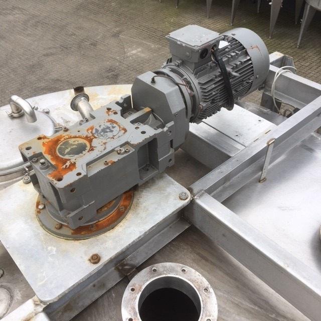 1 stk. 20 m3 rustfritt ståltank V1097 - NTT Woodnet