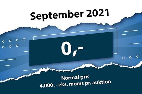 Sælg GRATIS i hele september