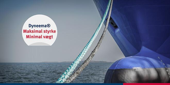 Verdens stærkeste fiber brugt i reb til marinaen