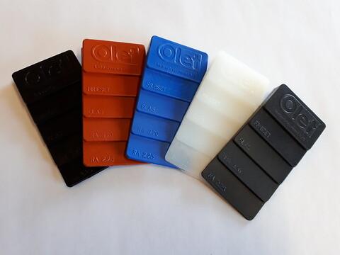 Olet Industrigummi A/S udleverer gratis materialeprøver - Materialeprøver fra Olet Industrigummi A/S