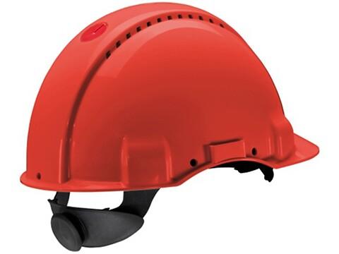 Sikkerhedshjelm G3000 peltor rød - 3M