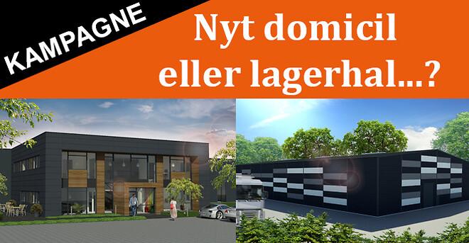 Lad Midtjysk Albyg bygge jeres nye domicil eller lagerhal / lagerbygning