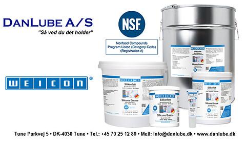Silikonefedt - NSF H1