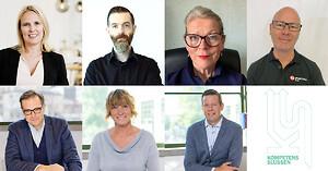 Kompetensslussen bjuder in Sveriges textilproducenter och andra intresserade till ett event som handlar om att förenkla ditt företags kompetensförsörjning. Här är en bild på samtliga talare på webbinariet.
