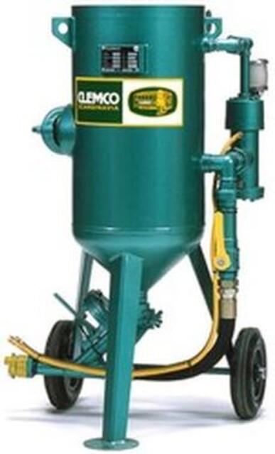 Clemco 50 liters sandblåseapparat fra Vestec
