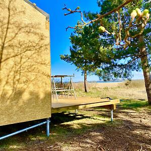 Sommerhus bygget på jordskruer fra BAYO.S