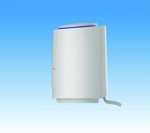Pettinaroli telestat 24V - Energibesparende telestat 24V, 1W med klik-montering til Pettinaroli fordelersystem. Incl. Pettinaroli adaptor.  Passer til både til trådløse og fortrådet systemer DIRECT, COMFORT-serien og COMFORT IP