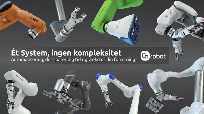 OnRobot One System Zero Complexity Automatisering