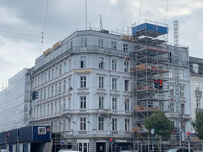 Grand Hotel renoveret af Xella Danmark med Ytong Multipor